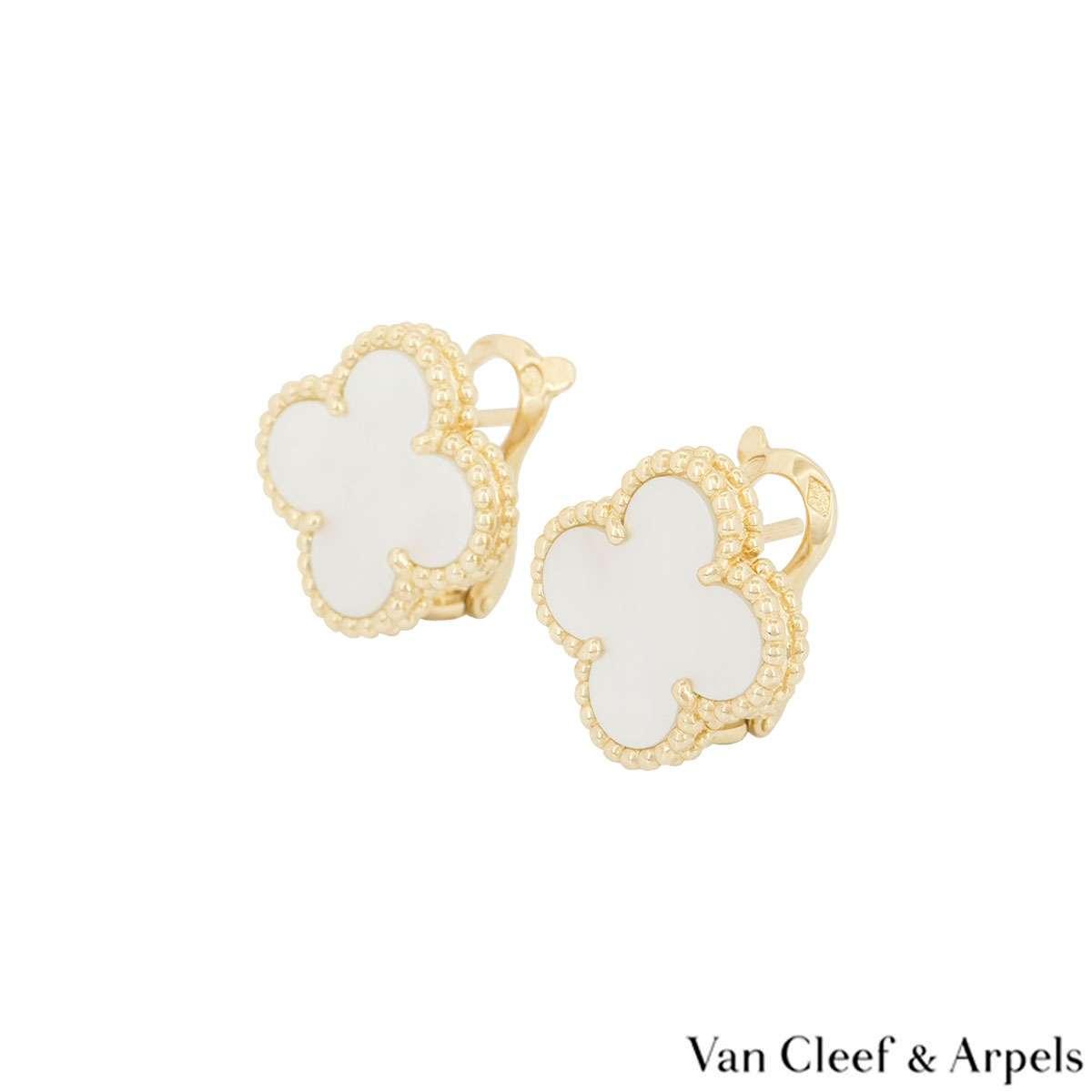Van Cleef & Arpels VintageAlhambra Earrings
